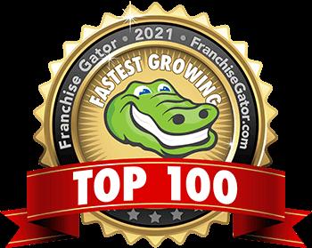 top 100 franchises for 2021