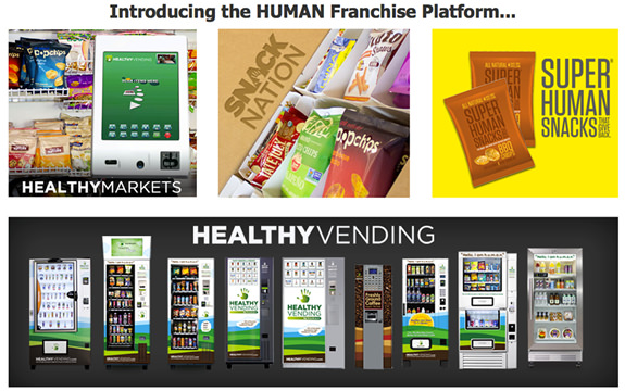 vending machine franchise cost