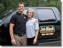 Jet-Black Candidate