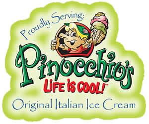 Pinocchio's Original Italian Ice Cream