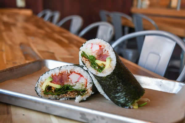 Roll On In Sushi Burritos Bowls Franchise Costs Fees For 2019
