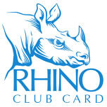 Rhino Club Card Charity Funding